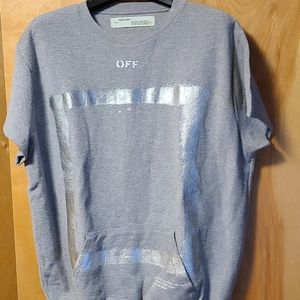 OFF- White Frame of mind sweater lg
